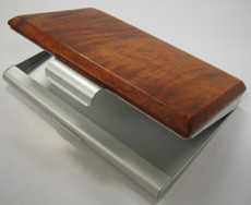 Koa business card case ($35)