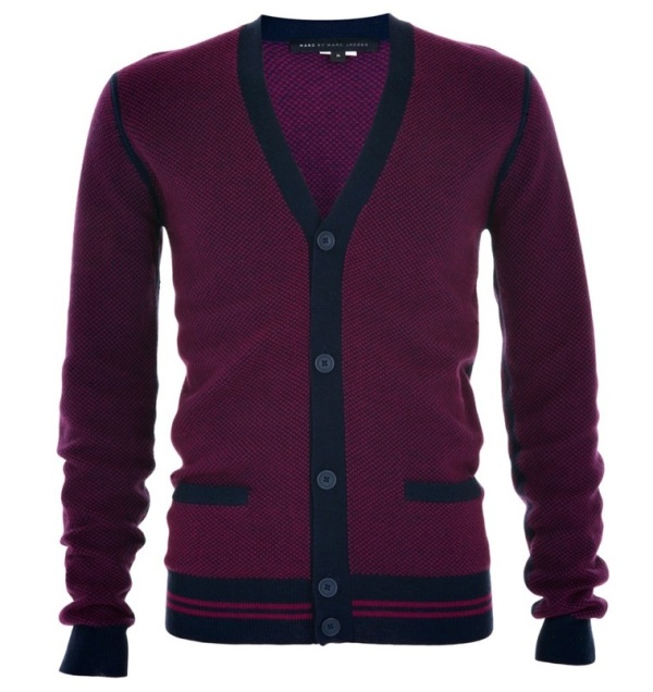 Marc by Marc Jacobs mini-check cardigan