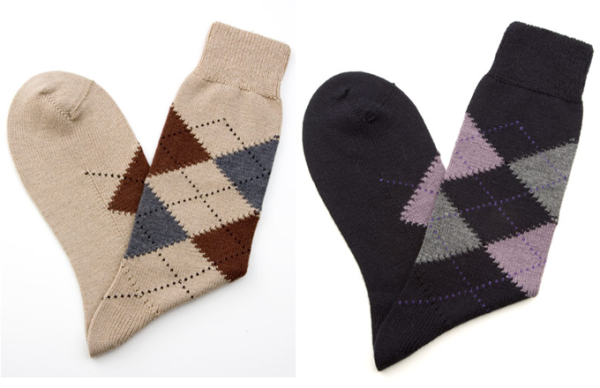 Merino wool mix socks from J.Press ($29)