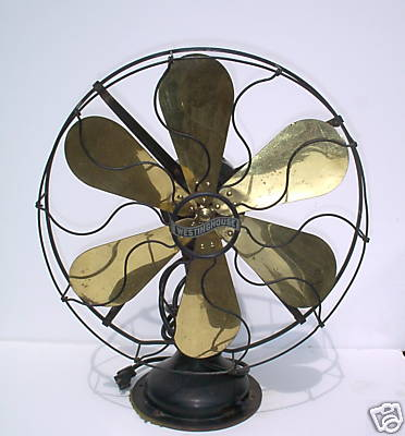 1920s Westinghouse fan